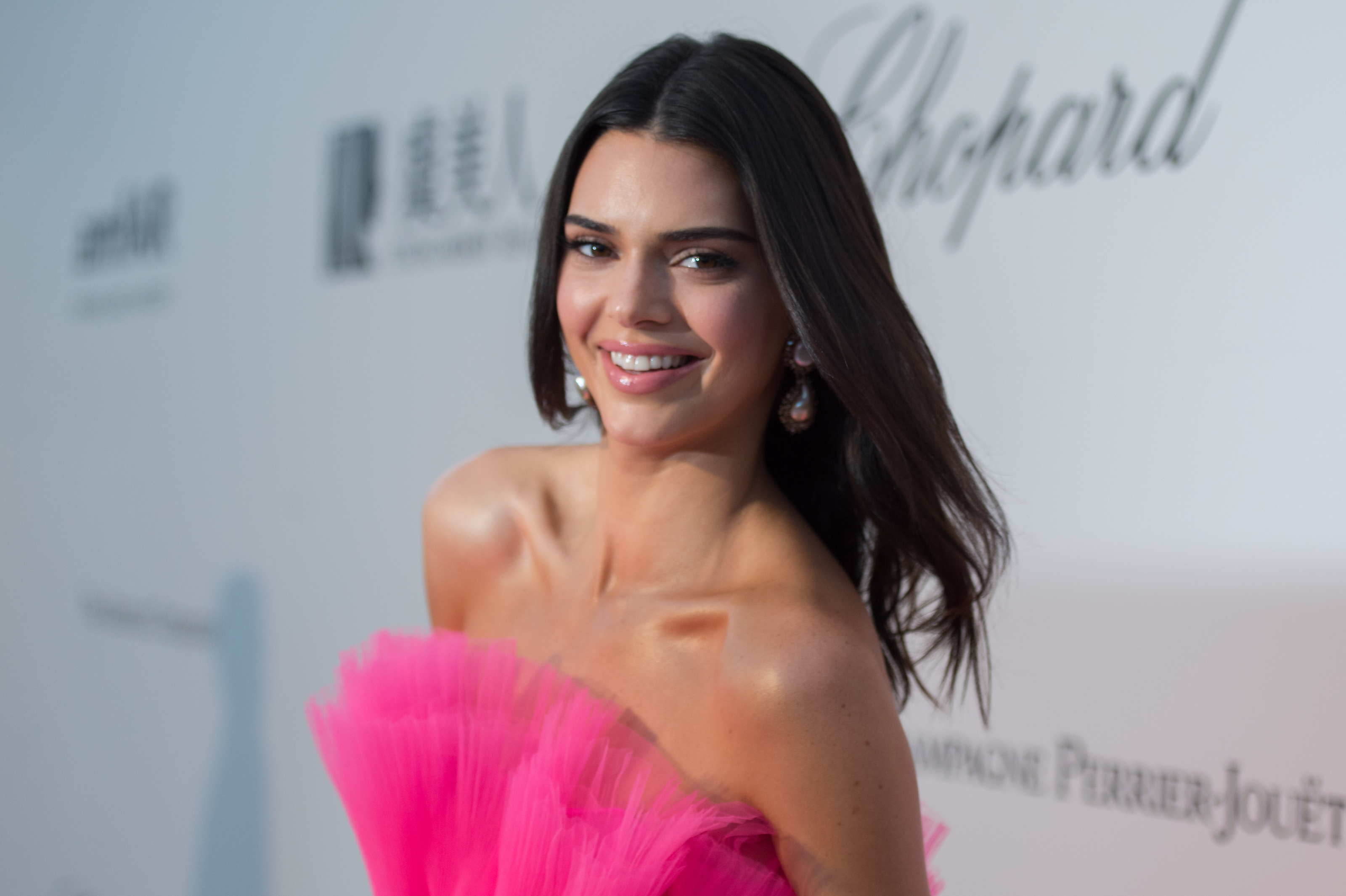 Kendall Jenner Shows Off Smile Celebrating One Year With Moon Oral